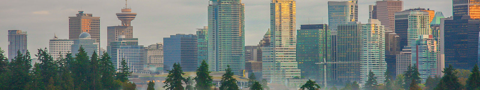 Vancouver's glass buildings